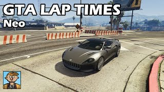 Fastest Sports Cars (Neo) - GTA 5 Best Fully Upgraded Cars Lap Time Countdown