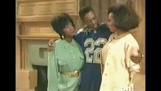 A Different World: 6x25 - Whitley and Dwayne tell their mothers about the pregnancy