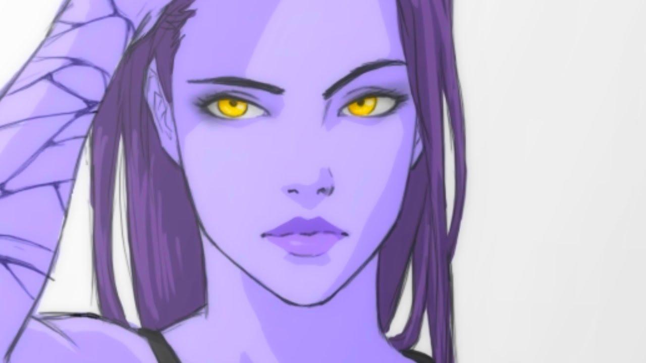 Overwatch widowmaker face