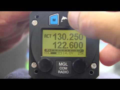 MGL Avionics V6 Com Aircraft Radio Transceiver
