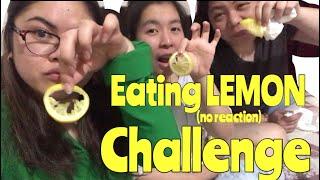 EATING LEMON (NO REACTION) CHALLENGE / QATAR / OFW / FUNNY