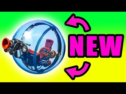 First Reaction to the NEW Balller Vehicle! ⚠️ Fortnite Season 8 Baller Gameplay