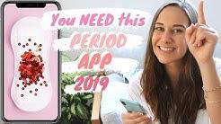 BEST period tracker app FREE 2019 (Menstrual Cycle App)