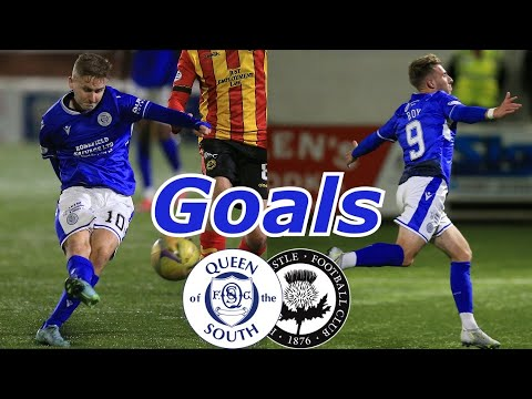 Queen Of South Partick Thistle Goals And Highlights