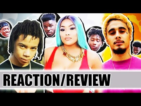 YBN Nahmir, Stefflon Don and Wifisfuneral's Cypher | REACTION/REVIEW