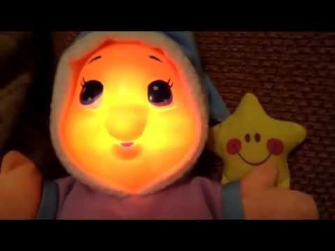 Playskool glow worm childrens musical nursery rhyme classic soft toy