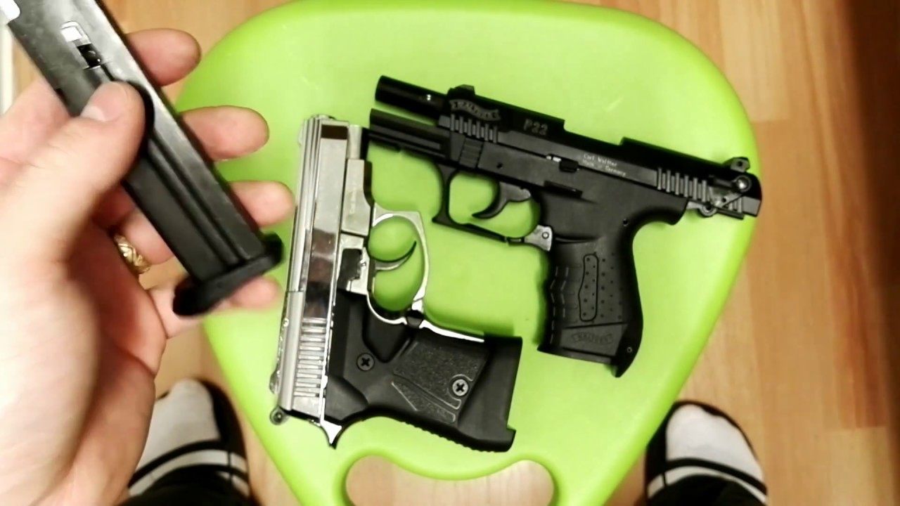 [ENGLISH] Blank Firing Pistol Walther