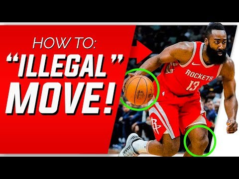 How To Do James Harden's 'ILLEGAL' Step Back   Basketball Shooting Form