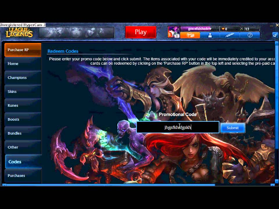 Lol free skins code | League of Legends: The Free Cosmetics (Skins