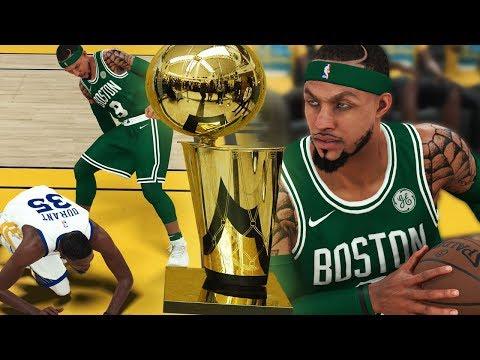 367cddf347a NBA 2K18 MyCAREER NBA Finals Pt.2 - ENDED KD s CAREER!! 70 POINT