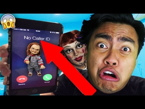 Thumbnail: 5 CRAZY CALLING ANNABELLE DOLL VIDEOS (SHE ACTUALLY ANSWERED)