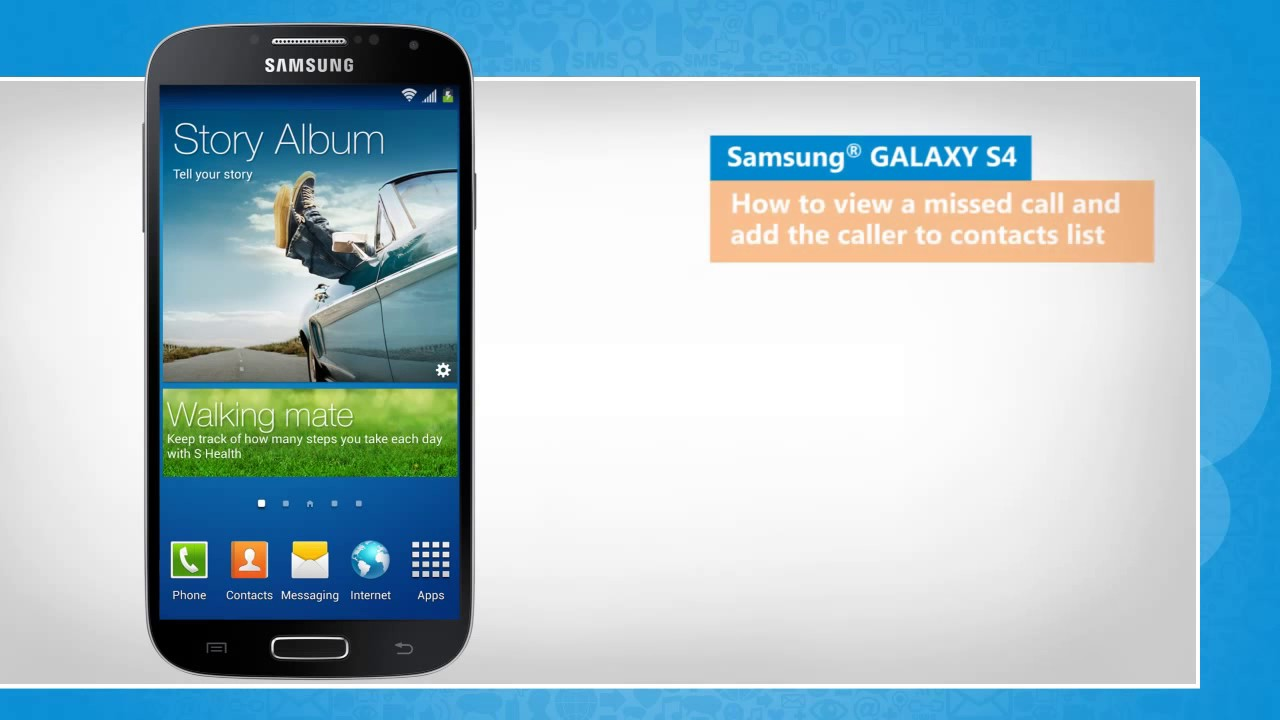 call tracker for samsung galaxy s4