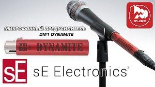 SE ELECTRONICS DYNAMITE DM1 - микрофонный бустер (предусилитель для динамического микрофона)