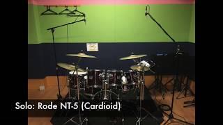 Drum Overhead Mics: Cardioid vs Omni