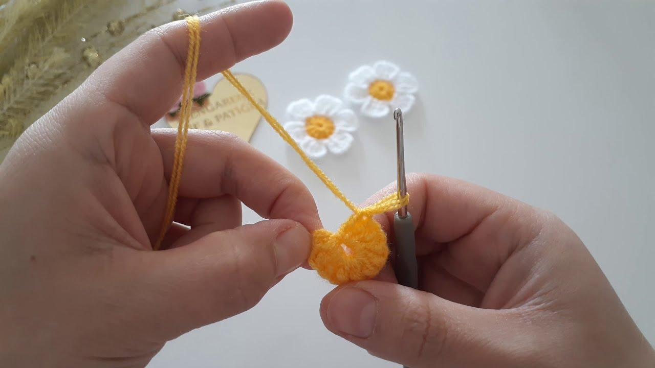 Brezilya nakışı papatya yapımı,embroidey