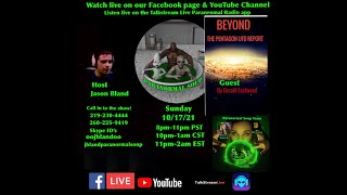 Paranormal Soup Ep 290 guest Gerald Eastwood