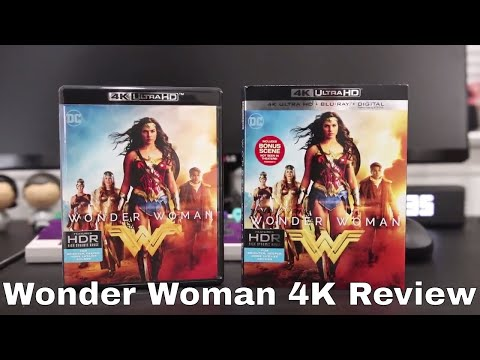 Wonder Woman 4K UHD Blu-Ray Review