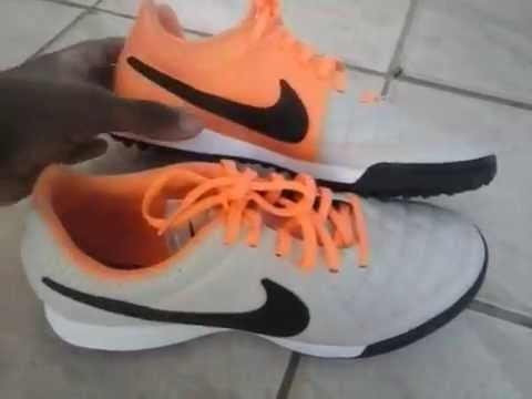 Chuteira Society Nike Tiempo Genio Leather TF Centauro Unboxing Review! -  YouTube e3279193ca228