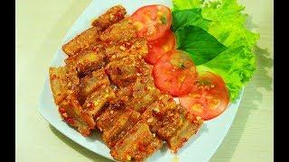 Cách làm Thịt Heo Chiên Nước Mắm da giòn thịt mềm ngon tuyệt / Ăn Gì Đây ?