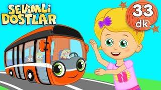 Bak Otobüs Geliyor şarkısı ile Sevimli Dostlar Bebek Şarkıları | Adisebaba TV Kids Songs