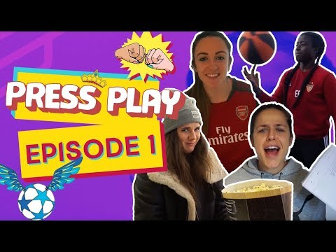 Welcome to our ⚽️ Vlog 💚 Eunice, Laura, Lisa & Sarah 💚 👉▶️ Ep1