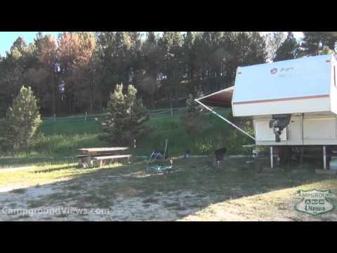CampgroundViews.com - Custer Trail Campground Hill City South Dakota SD Forest Service