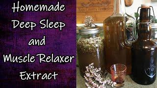 Deep Sleep and Muscle Relaxer Extract
