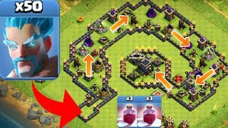 50 EISMAGIER vs TROLLBASE! || CLASH OF CLANS || Let's Play CoC [Deutsch/German HD]