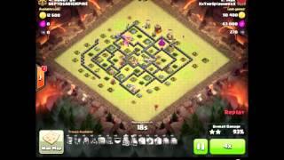 Clash of Clans ♦ 100 percent War ♦ 15 vs 15 ♦ 45 Star ♦