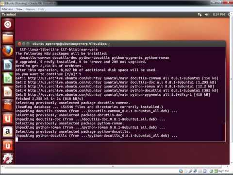 Install OpenERP 7 on Ubuntu 12.10 - Complete step by step guide