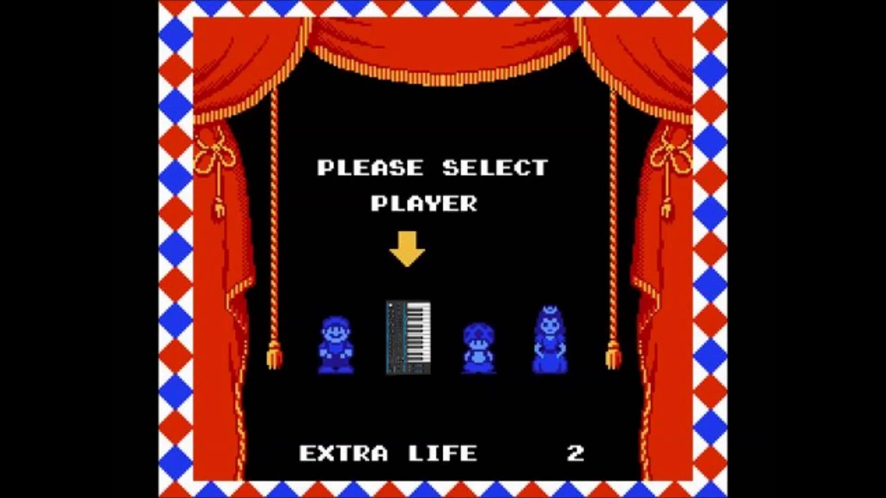 Super Mario Bros 2 Character Select Nintendo Music Novation