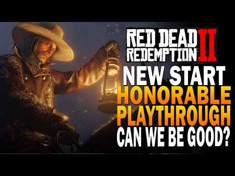 A New Start! Honorable Playthrough -  Red Dead Redemption 2 Xbox 4k Gameplay E1 thumbnail