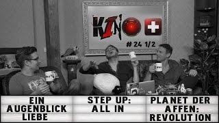 Kino+ #24 (1/2) - Ein Augenblick Liebe, Step Up: All In, Planet der Affen: Revolution