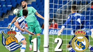 Real madrid moved above barcelona to top the la liga table... but they did so by beating sociedad in highly controversial circumstances... it started wi...