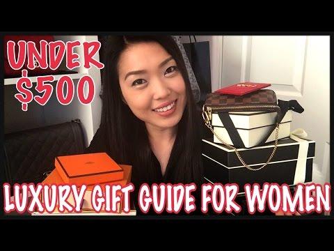 LUXURY GIFT GUIDE FOR WOMEN UNDER $500 | GINALVOE