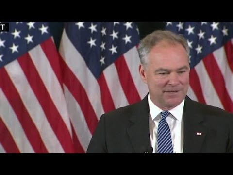 Tim Kaine: I'm proud of Hillary