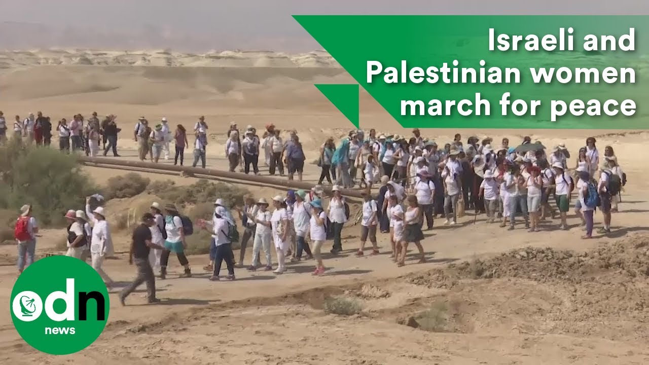 Israeli and Palestinian women march for peace - YouTubeMarch For Peace