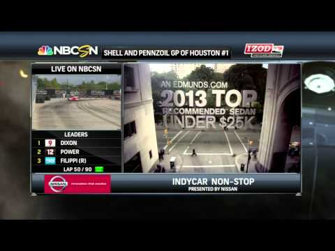 IndyCar 2013: Round 17 Houston Race 1 [Full]