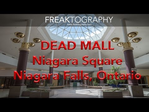Exploring The Abandoned Dead Mall Niagara Square | Dead Malls | Abandoned Malls