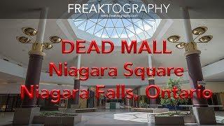 Exploring the Abandoned Dead Mall Niagara Square   Dead Malls   Abandoned Malls