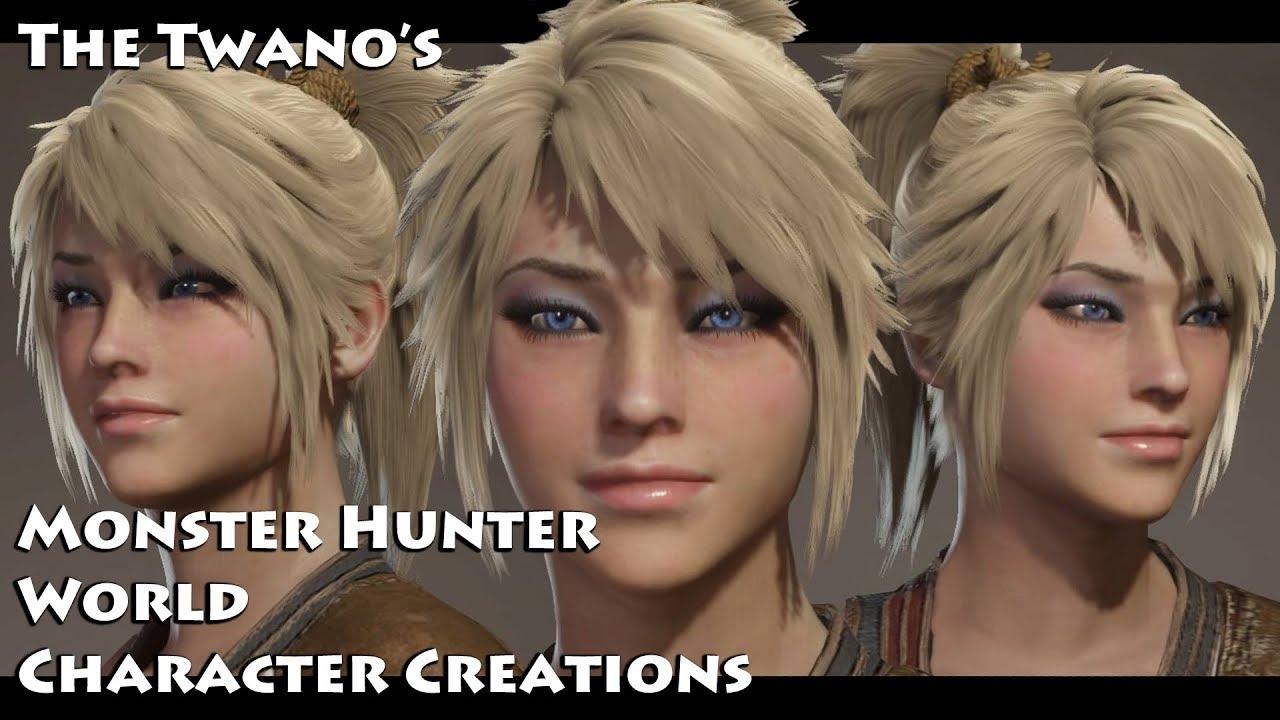 Monster Hunter World Character Creation Cute Female 62 Youtube
