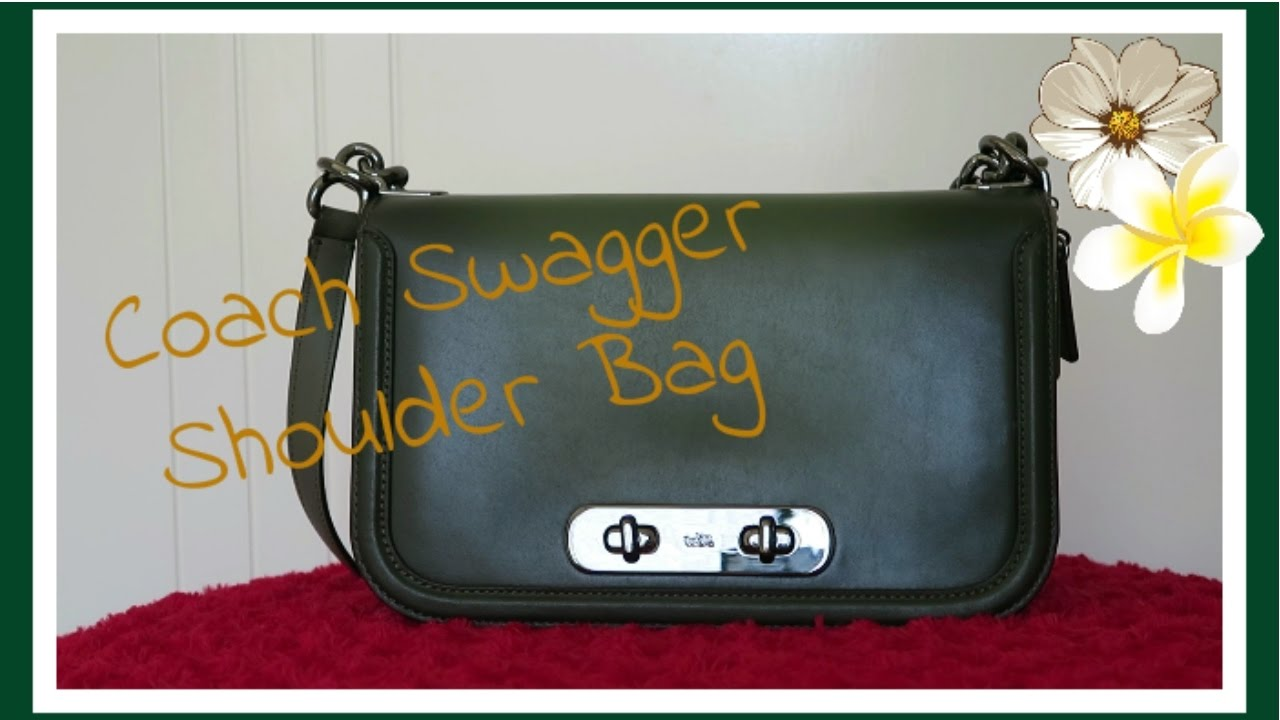 Coach Swagger Shoulder Bag in Glovetanned Leather  6c6f9cbd7f97e