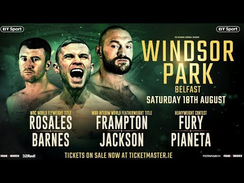 WINDSOR PARK: DAY OF THE JACKEL & UNLEASHED FURY [PROMO]