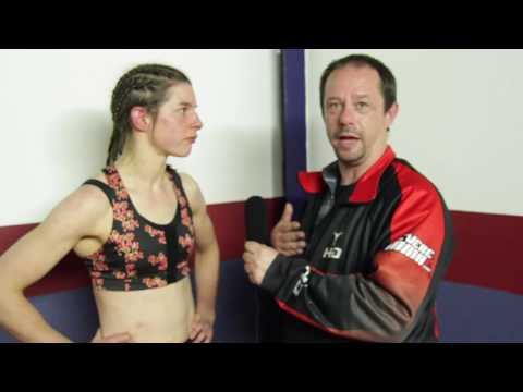 Post Fight Interview with Helen Copus at ICE FC 18