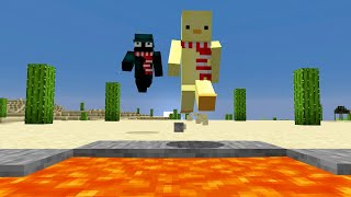 Minecraft Death Race...