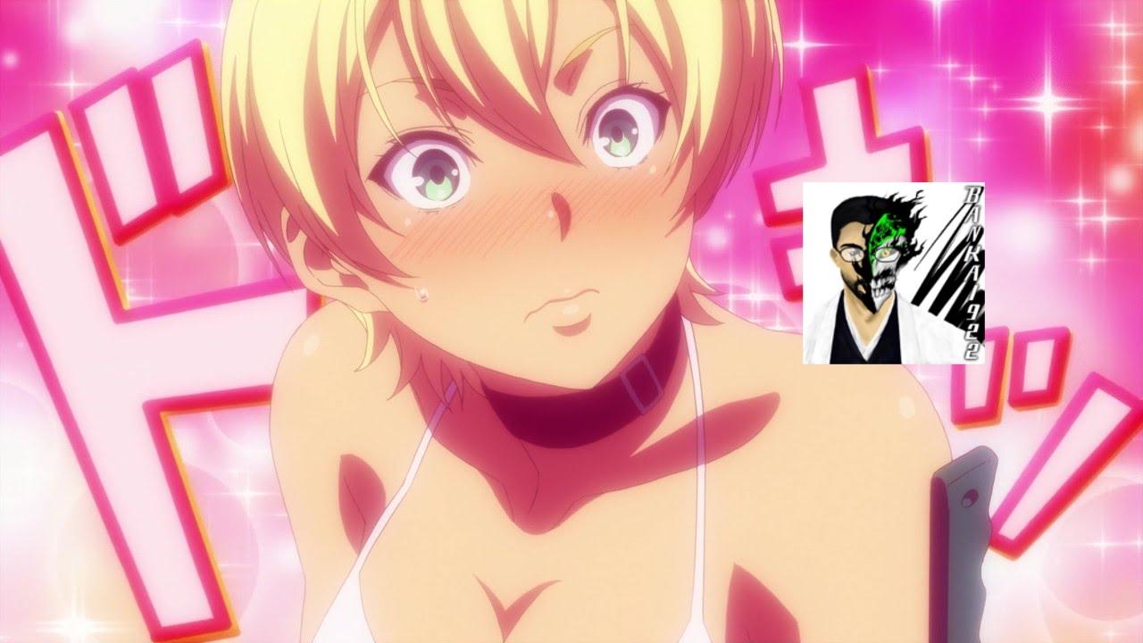 Food Wars Ikumi materi pelajaran 5: anime food wars meat meat