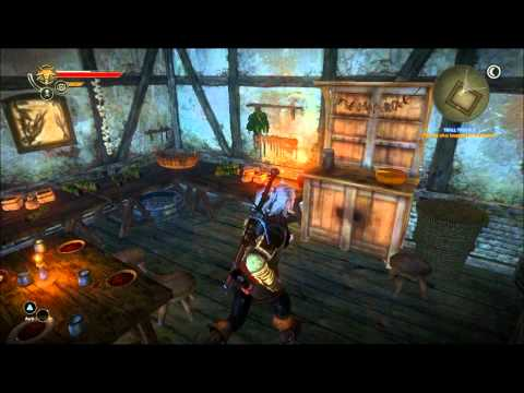 Let's Play The Witcher 2 - Part 37: Tracking Down a Troll Head