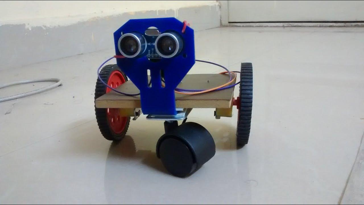 Minibot diy simple arduino uno based homemade autonomous