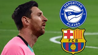 Deportivo Alaves vs Barcelona, La Liga 2020/21 - MATCH PREVIEW