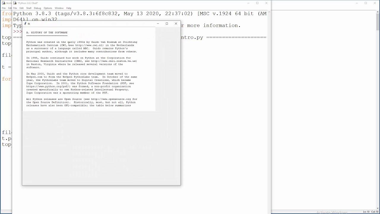 Python Tkinter - 17 - Text Widget Explained